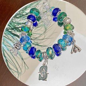 Jewelry - Seattle Mariners charm bracelet
